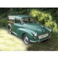Morris Minor Traveller (Inc. rear)